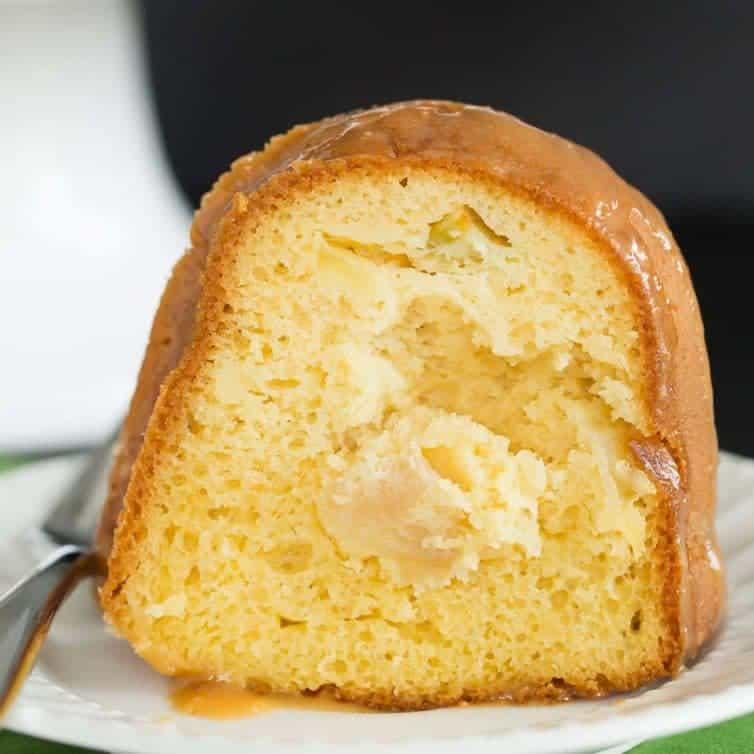 Caramel Apple Bundt Cake Brown Eyed Baker