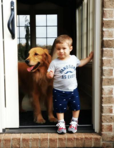Duke and Joseph - 21 months old