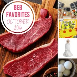 Brown Eyed Baker Favorites: October 2016 :: New Food, Home and Kid Favorites!