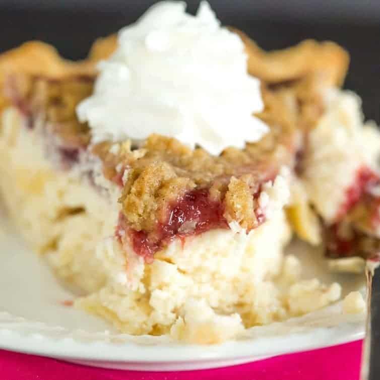 cranberry pudding pie