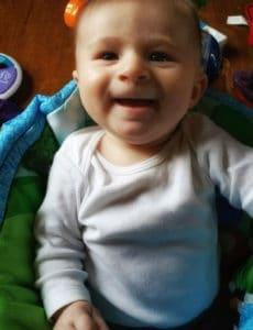 Dominic - 3.5 months | browneyedbaker.com