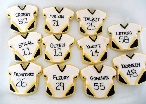 Pittsburgh Penguins Cookies