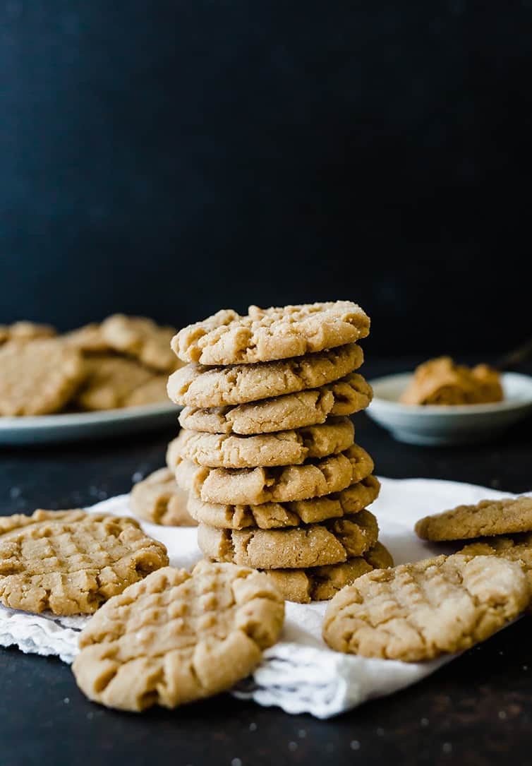 The Best Soft Peanut Butter Cookies Brown Eyed Baker