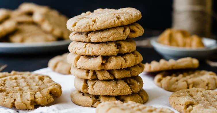 The Best Soft Peanut Butter Cookies Brown Eyed Baker