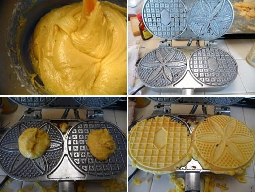 pizzelles-process