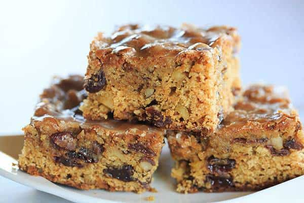 Poor Man's Cookies - An old family recipe for spiced bar cookies full of plump raisins and walnuts. | browneyedbaker.com