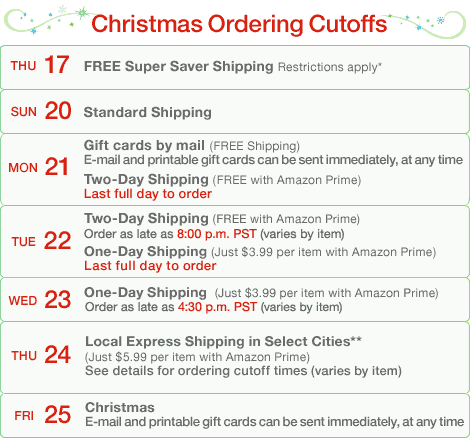 amazon-holiday-shipping-calendar
