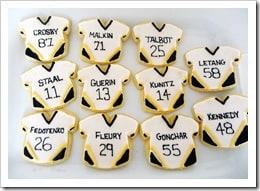 Pittsburgh Penguins Sugar Cookies
