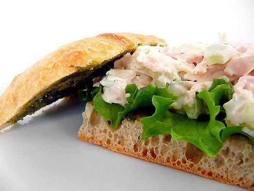 Italian Chicken Salad Sandwich
