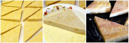 Polenta French Toast - Prep
