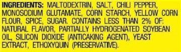 Taco Seasoning Mix Ingredients