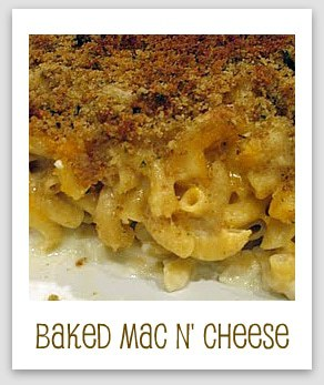 Baked Mac n' Cheese