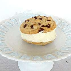 Homemade Ice Cream Cookie Sandwiches