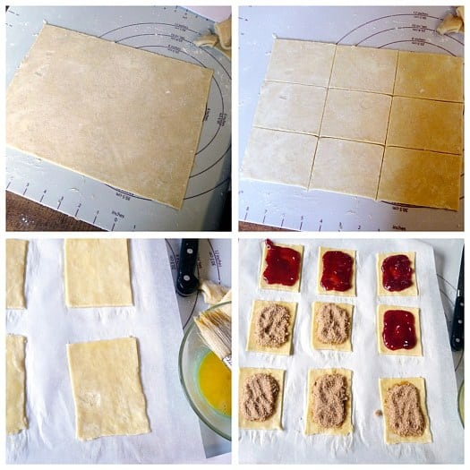 Homemade Pop-Tarts: Assembly