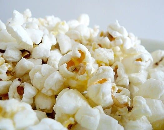 Fluffy Homemade Popcorn