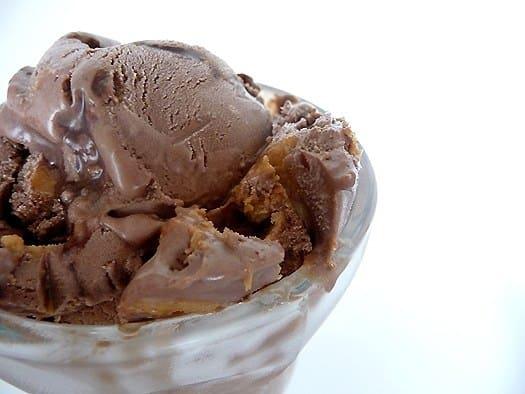 Chocolate Fudge Swirl Peanut Butter Ice Cream
