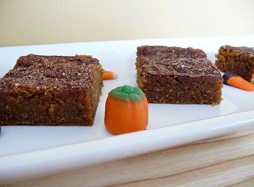 Pumpkin Pie Bars