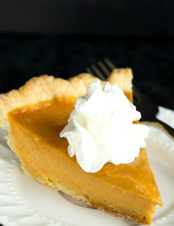 The BEST Pumpkin Pie recipe you'll ever find! | browneyedbaker.com