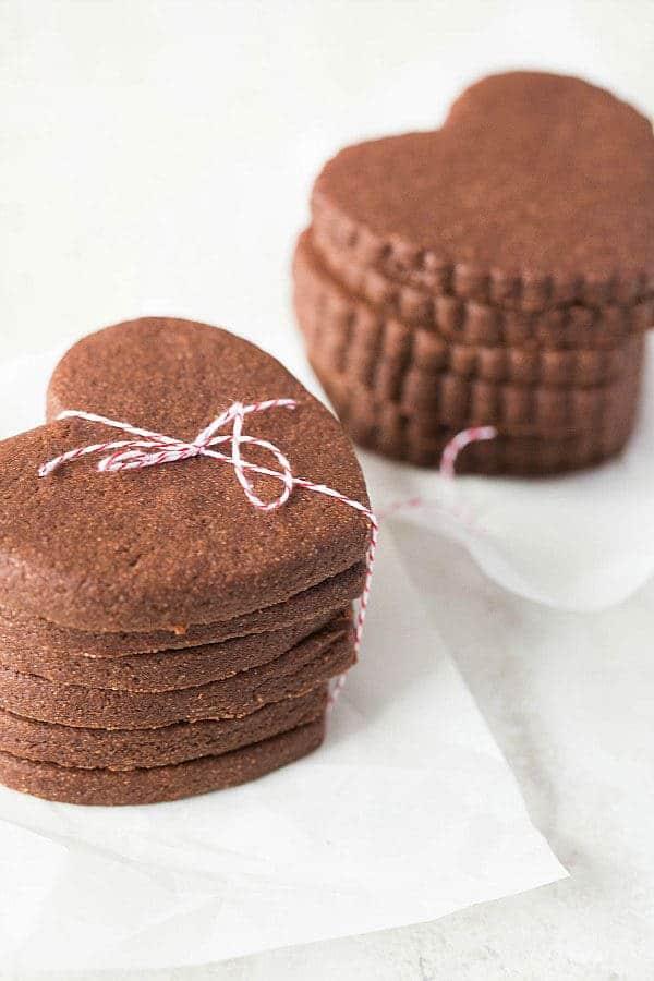 Chocolate Sugar Cookies :: Top 10 List: Favorite Cookie Recipes | browneyedbaker.com