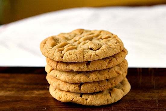 Chunky Peanut Butter Cookies :: Top 10 List: Favorite Cookie Recipes | browneyedbaker.com