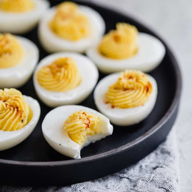 Classic Deviled Eggs Recipe Brown Eyed Baker