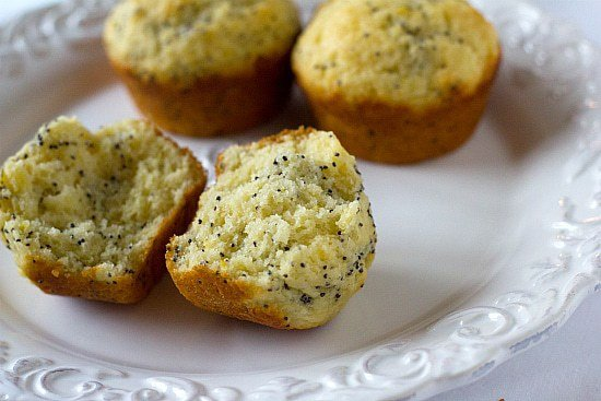 Lemon Poppy Seed Muffins | Brown Eyed Baker