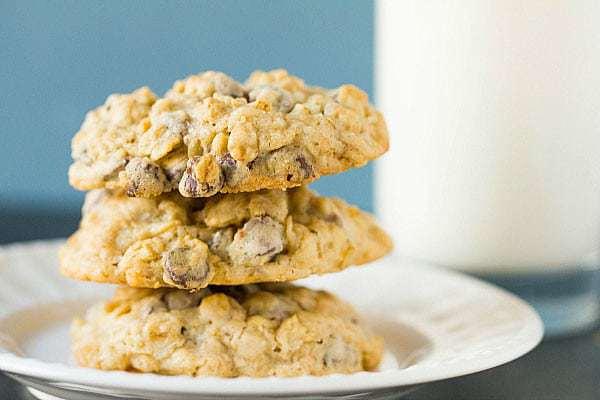 Oatmeal Chocolate Chip Cookies :: Top 10 List: Favorite Cookie Recipes | browneyedbaker.com