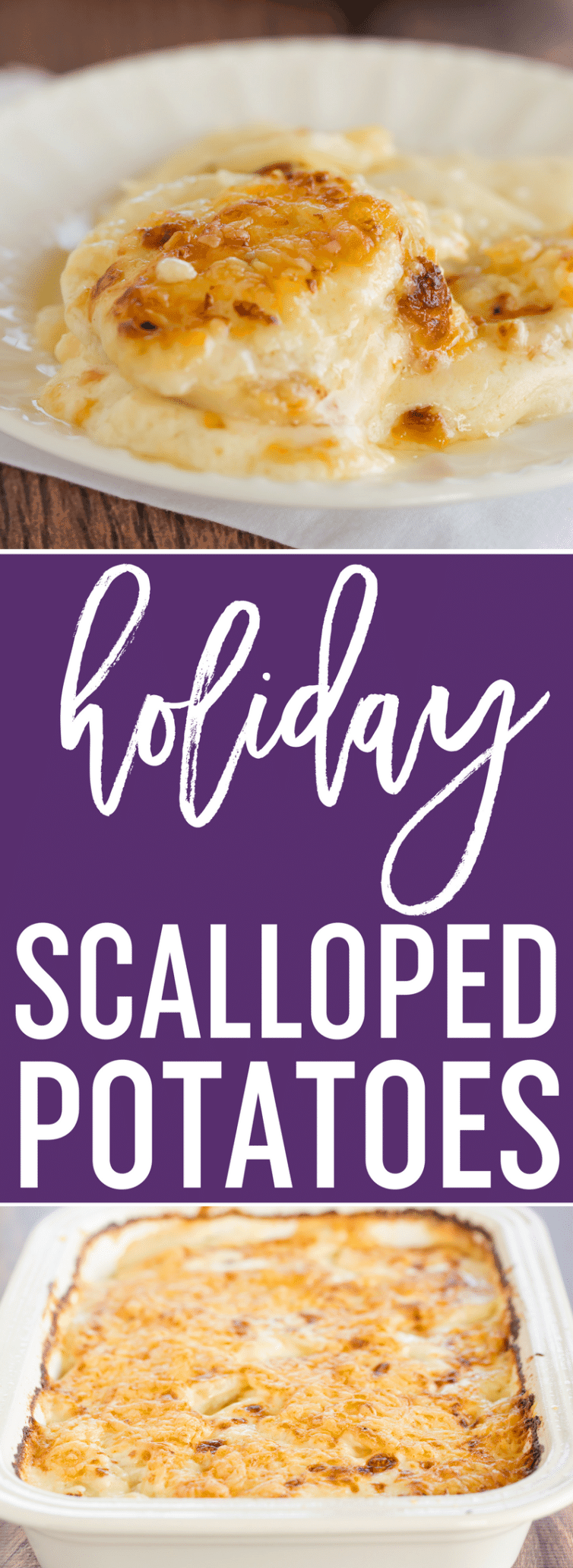 Scalloped Potatoes A Classic Dish And Holiday Staple This Easy Homemade Recipe Comes Together