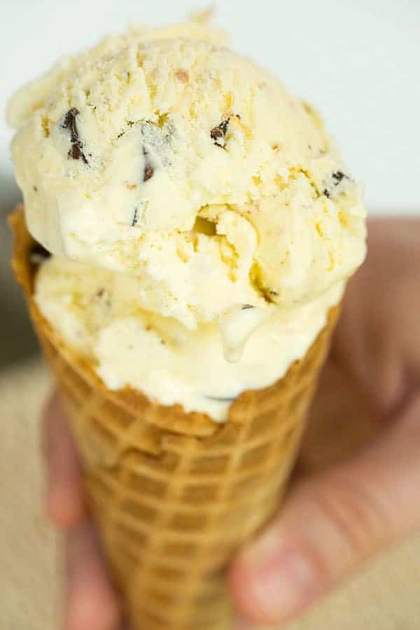 Toasted Coconut Dark Chocolate Chunk Ice Cream >> Top 10 Ice Cream Recipes | browneyedbaker.com