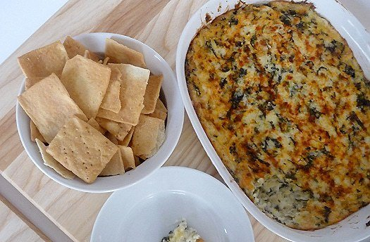 Top 10 Best Appetizer Recipes >> Spinach-Artichoke Dip | browneyedbaker.com