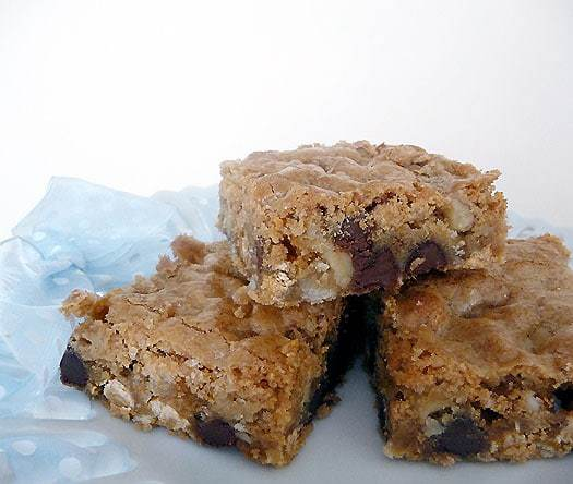Top 10 Best Bar Recipes >> Chewy Chunky Blondies | browneyedbaker.com