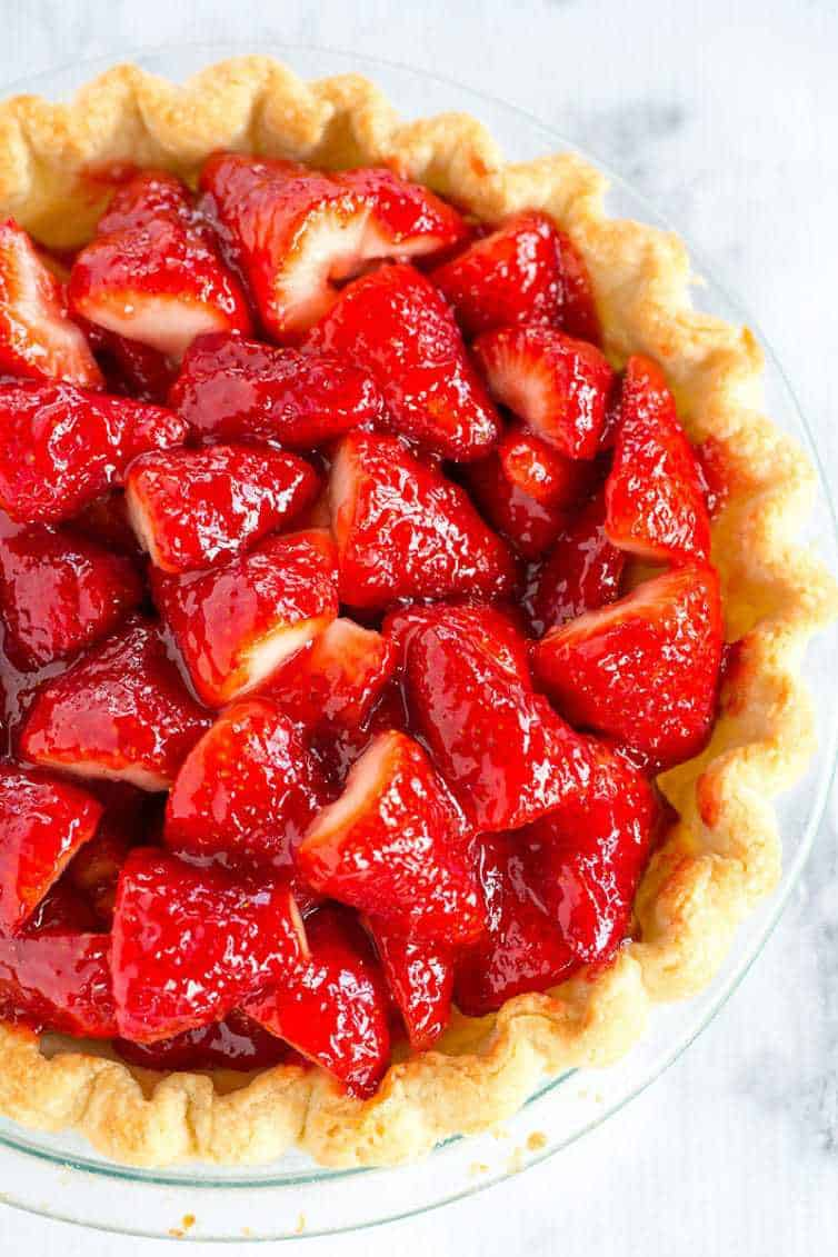 how to make strawberry topping with frozen strawberries