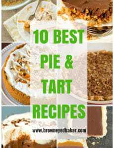 The 10 Best Pie & Tart Recipes | browneyedbaker.com