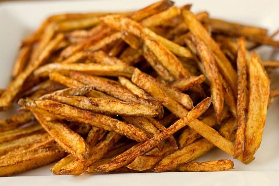 Easy Homemade French Fries | Brown Eyed Baker