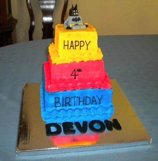 Lego Batman Birthday Cake Brown Eyed Baker