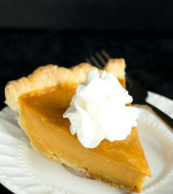 Top 10 Best Pie & Tart Recipes :: Pumpkin Pie | browneyedbaker.com