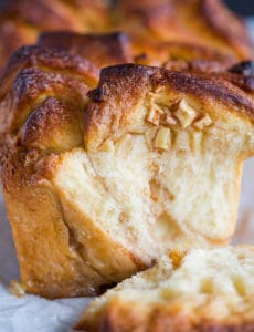 Apple Cinnamon Sugar Pull Apart Bread