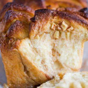 Apple Cinnamon Sugar Pull Apart Bread