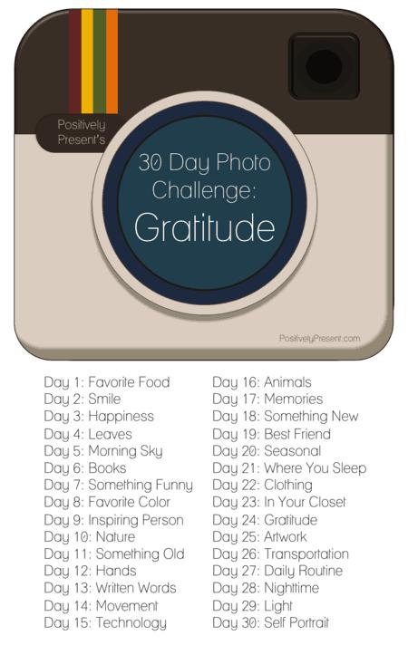 30 Days Of Gratitude, A Photo Challenge