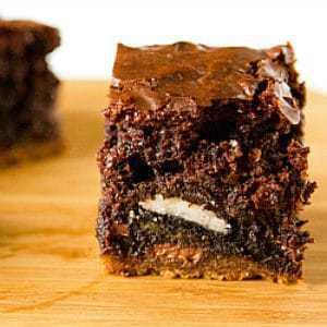Chocolate chip cookie oreo brownie cake recipe