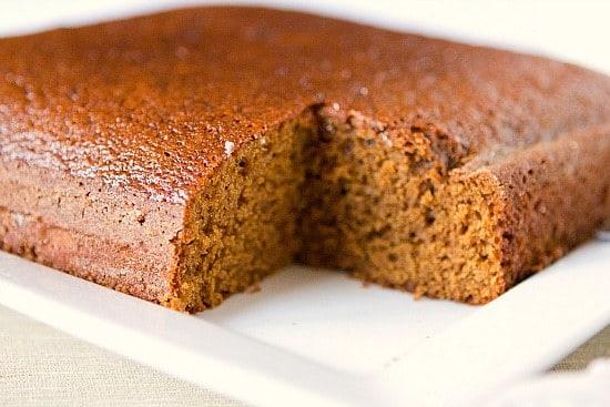 Recipe Moist Gingerbread Cake