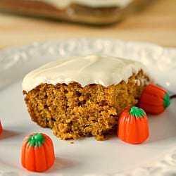 Pumpkin Bars | Pumpkin Cake Bars