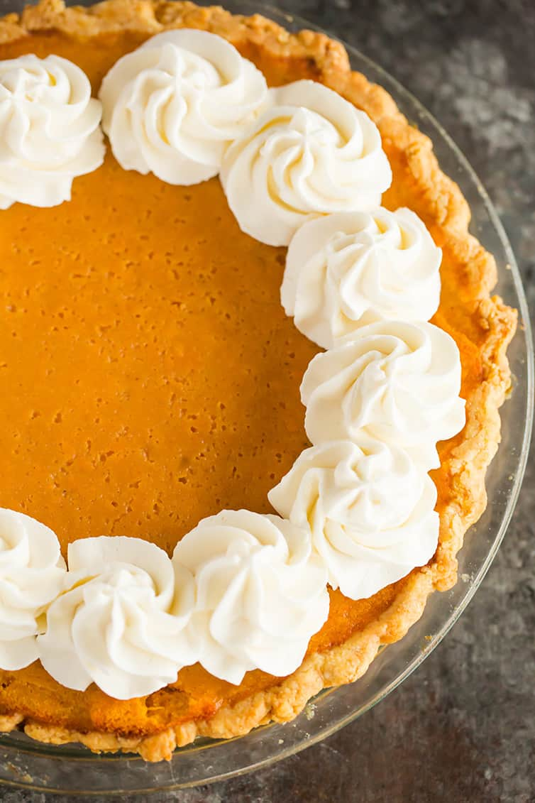 Homemade Sweet Potato Pie | Brown Eyed Baker