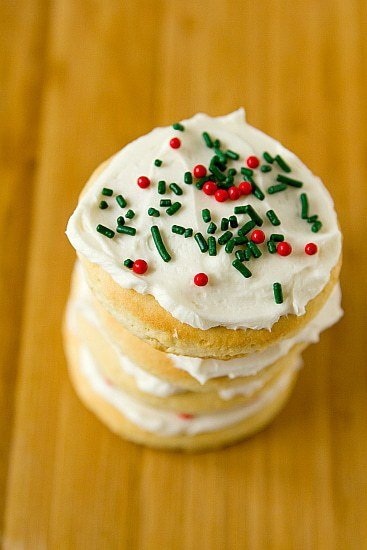 Lofthouse Style Frosted Sugar Cookies Brown Eyed Baker