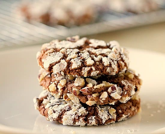 Nutella-Hazelnut Cookies   Brown Eyed Baker