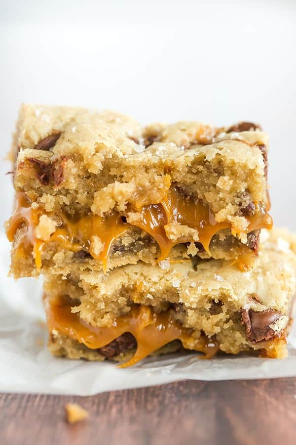 Caramel Chocolate Chip Bars Cake Mix