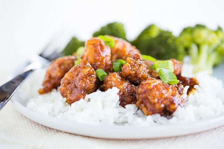 Homemade General Tso's Chicken!