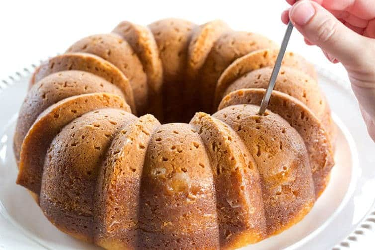 Rum Bundt Cake From Cake Mix