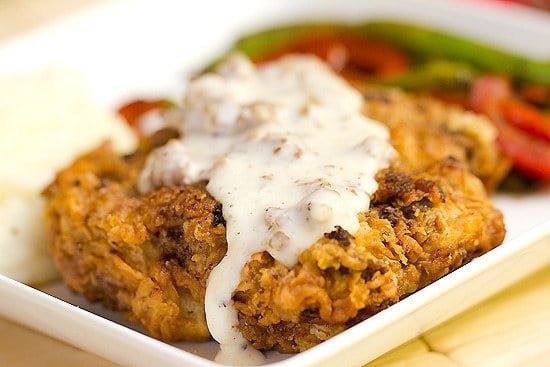 Image result for Chicken-fried steak