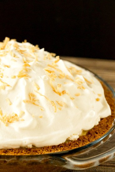 Coconut Cream Pie | browneyedbaker.com